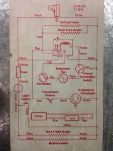 True GDM-12F Wire Schematic – Refrigeration Mechanics | True Manufacturing Wiring Diagram |  | Refrigeration Mechanics