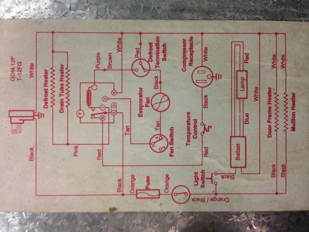 True freezer wiring diagram true freezer wiring diagram refrigeration mechanics