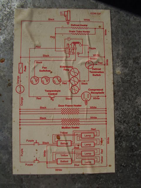 True Gdm-72f Wire Schematic